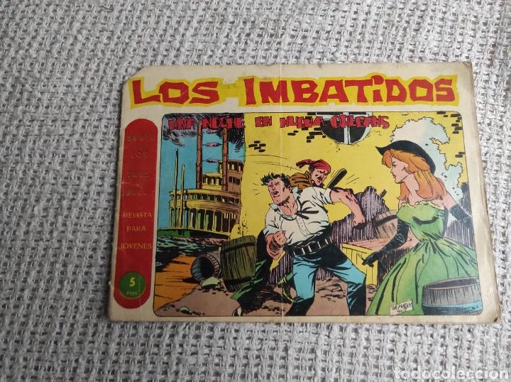 TEBEO MAGA, LOS IMBATIDOS Nº 14 UNA NOCHE EN NUEVA ORLEANS (Tebeos y Comics - Maga - Otros)
