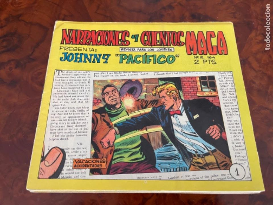 25 NARRACIONES Y CUENTOS MAGA PRESENTA JOHNNY PACIFICO COMPLETA 31 NUMEROS - MAGA - (Tebeos y Comics - Maga - Otros)
