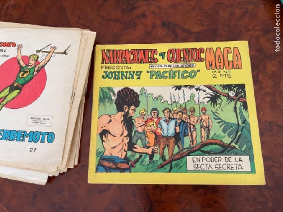 Tebeos: 25 NARRACIONES Y CUENTOS MAGA PRESENTA JOHNNY PACIFICO COMPLETA 31 NUMEROS - MAGA - - Foto 6 - 289847333