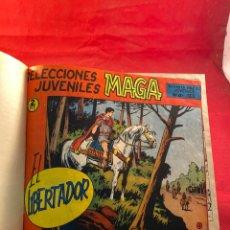 Livros de Banda Desenhada: EL LIBERTADOR - COLECCIONES JUVENILES MAGA - 30 NÚMEROS. Lote 290033538