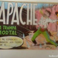 Tebeos: APACHE Nº 26, LA TRAMPA MORTAL. Lote 291462588