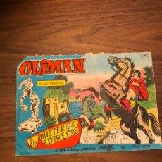 Tebeos: OLIMÁN Nº 61, ORIGINAL , EDITORIAL MAGA. Lote 292078498