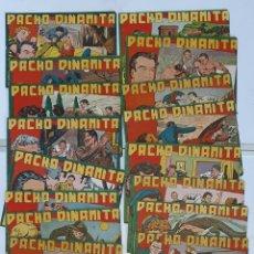 Livros de Banda Desenhada: TEBEO PACHO DINAMITA , (19 TEBEOS). Lote 293217068