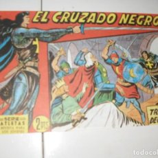 Tebeos: EL CRUZADO NEGRO 45.FACSIMIL APAISADO.EDITORIAL MAGA,1961,IMPECABLE.. Lote 293991398