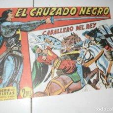 Tebeos: EL CRUZADO NEGRO 43.FACSIMIL APAISADO.EDITORIAL MAGA,1961,IMPECABLE.. Lote 293991433