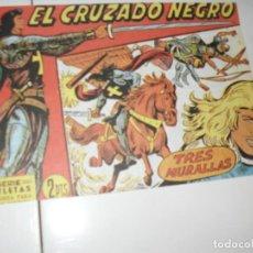 Tebeos: EL CRUZADO NEGRO 36.FACSIMIL APAISADO.EDITORIAL MAGA,1961,IMPECABLE.. Lote 293991818