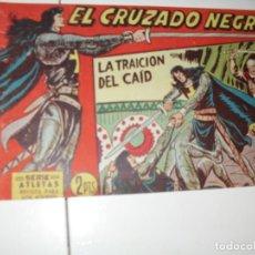Tebeos: EL CRUZADO NEGRO 26.ORIGINAL APAISADO.EDITORIAL MAGA,1961,IMPECABLE.. Lote 293991988