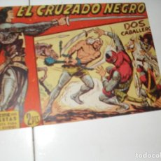 Tebeos: EL CRUZADO NEGRO 22.ORIGINAL APAISADO.EDITORIAL MAGA,1961,IMPECABLE.. Lote 293992153
