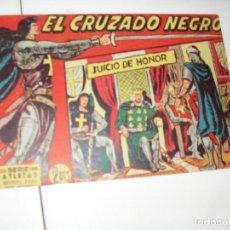 Tebeos: EL CRUZADO NEGRO 21.ORIGINAL APAISADO.EDITORIAL MAGA,1961,IMPECABLE.. Lote 293992198