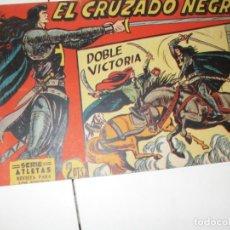 Tebeos: EL CRUZADO NEGRO 14.ORIGINAL APAISADO.EDITORIAL MAGA,1961,IMPECABLE.. Lote 293992228