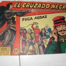 Tebeos: EL CRUZADO NEGRO 8.ORIGINAL APAISADO.EDITORIAL MAGA,1961,IMPECABLE.. Lote 293992313
