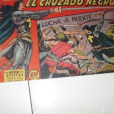 Tebeos: EL CRUZADO NEGRO 7.ORIGINAL APAISADO.EDITORIAL MAGA,1961,IMPECABLE.. Lote 293992403