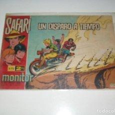 Tebeos: SAFARI 70.IBERO MUNDIAL DE EDICIONES,AÑO 1962.. Lote 294867468