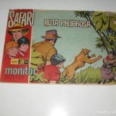 Tebeos: SAFARI 67.IBERO MUNDIAL DE EDICIONES,AÑO 1962.. Lote 294867818