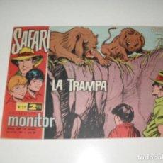 Tebeos: SAFARI 37.IBERO MUNDIAL DE EDICIONES,AÑO 1962.. Lote 294880428