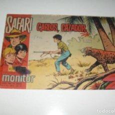 Tebeos: SAFARI 10.IBERO MUNDIAL DE EDICIONES,AÑO 1962.. Lote 294888293