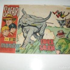 Tebeos: SAFARI 6.IBERO MUNDIAL DE EDICIONES,AÑO 1962.. Lote 294892943