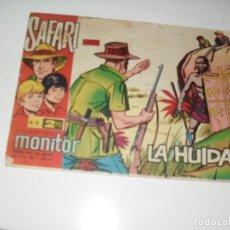 Tebeos: SAFARI 3.IBERO MUNDIAL DE EDICIONES,AÑO 1962.. Lote 294900548