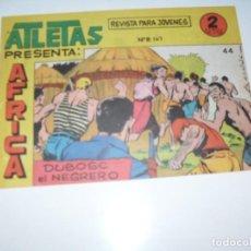 Tebeos: ATLETAS PRESENTA AFRICA 44.EDITORIAL MAGA,1964.COLECCION DIFICIL.ORIGINAL????.. Lote 294927553