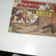 Tebeos: EL TERREMOTO MARINO 30.EDICIONES MAGA,AÑO 1963.. Lote 294930193