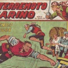 Tebeos: EL TERREMOTO MARINO Nº 13 - BUENOS AMIGOS. Lote 296579778
