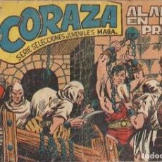 Tebeos: CORAZA Nº 17 ALARMA EN LA PRISION. Lote 296580683