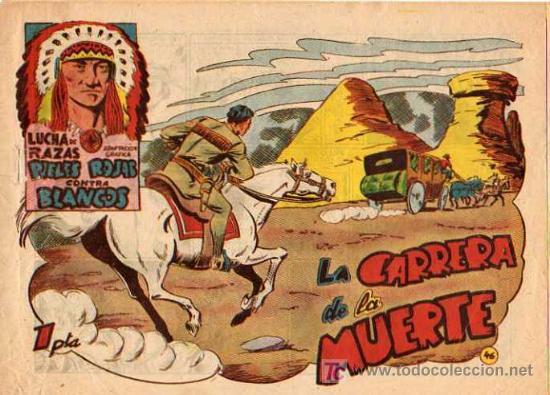 LUCHA DE RAZA Nº 46 (Tebeos y Comics - Marco - Otros)
