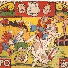 Tebeos: HIPO COLOR. HIPO EN EL OESTE. ORIGINAL. EDITORIAL MARCO.. Lote 5971898