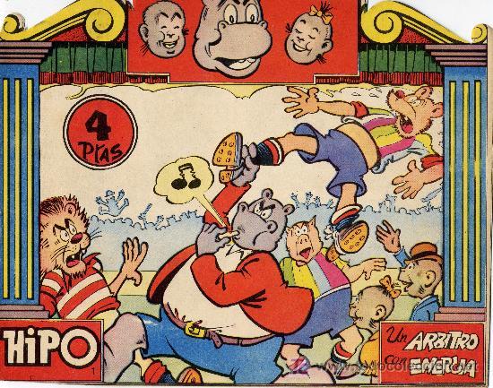 HIPO Nº 1 (CUADERNILLO ORIGINAL) (Tebeos y Comics - Marco - Hipo (Biblioteca especial))