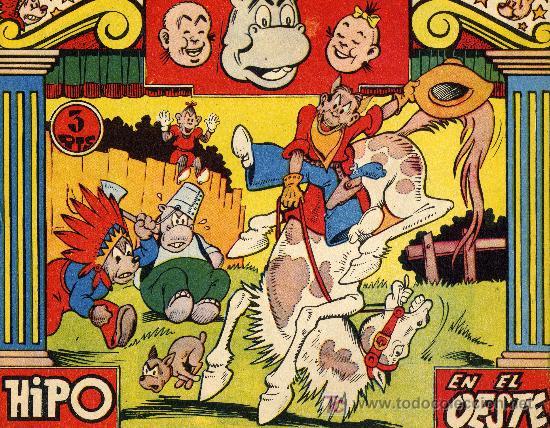 HIPO S/N (CUADERNILLO ORIGINAL) HIPO EN EL OESTE (Tebeos y Comics - Marco - Hipo (Biblioteca especial))