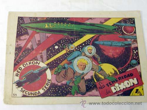 TEBEO RED DIXON 2ª SERIE Nº33 LA TEMERIDAD DE DIXON EDITORIAL MARCO (Tebeos y Comics - Marco - Red Dixon)