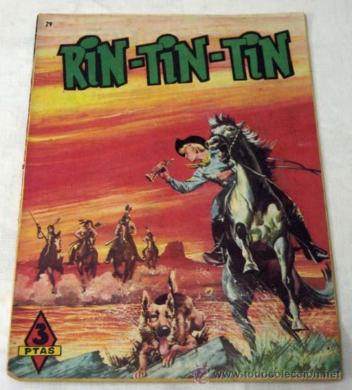 RIN TIN TIN Nº 29 LA SAGACIDAD DE RIN TIN TIN 1958 (Tebeos y Comics - Marco - Rin-Tin-Tin)