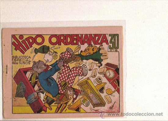 BIBLIOTECA ESPECIAL PARA NIÑOOS ......HIPO ORDENANZA DE MARCO (Tebeos y Comics - Marco - Hipo (Biblioteca especial))
