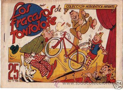 COLECCION ACROBATICA INFANTIL MARCO AÑOS 40 ORIGINAL (Tebeos y Comics - Marco - Acrobática Infantil)