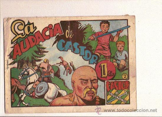 CASTOR EL INVENCIBLE Nº2 DE MARCO (Tebeos y Comics - Marco - Castor el Invencible)