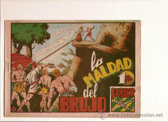 CASTOR EL INVENCIBLE Nº21 DE MARCO (Tebeos y Comics - Marco - Castor el Invencible)