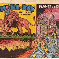 Tebeos: SIMBA - KAN, REY DE LOS LEONES Nº 35 - OSETE - ED. MARCO - 1960/62 - ORIGINAL NO FACSIMIL. Lote 31141955