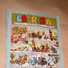 Tebeos: LA RISA TERCERA ÉPOCA Nº 3. EDICIONES MARCO 1965. RIZO. J. RIPOLL. E. BOIX. CASTILLO. FLEETWAY.+++++. Lote 26195281