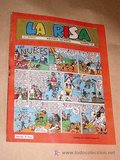 LA RISA TERCERA ÉPOCA Nº 16. EDICIONES MARCO 1965. E. BOIX. CASTILLO. MARTÍNEZ OSETE. FLEETWAY.+++++ (Tebeos y Comics - Marco - La Risa)