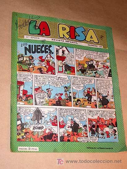 LA RISA TERCERA ÉPOCA Nº 18. EDICIONES MARCO 1965. E. BOIX. CASTILLO. FLEETWAY.+++++ (Tebeos y Comics - Marco - La Risa)
