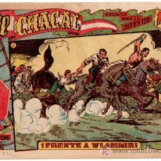Tebeos: EL CHACAL ORIGINAL Nº 2, MARTINEZ OSETE, 1959,EDI. MARCO - EXCELENTE MUESTRA. Lote 19754883
