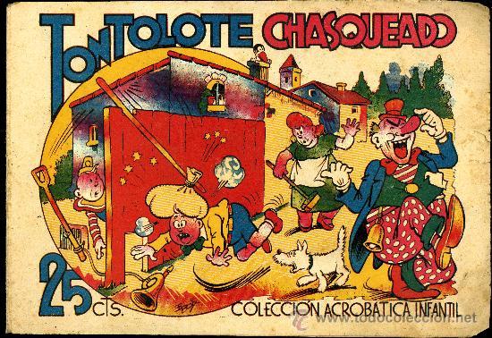 """COLECCIÓN ACROBATICA INFANTIL """"TONTOLOTE CHASQUEADO"""" (Tebeos y Comics - Marco - Acrobática Infantil)"""