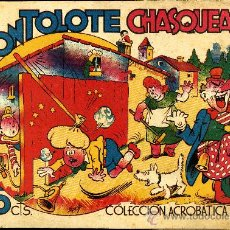 "Tebeos: COLECCIÓN ACROBATICA INFANTIL ""TONTOLOTE CHASQUEADO"". Lote 12447487"