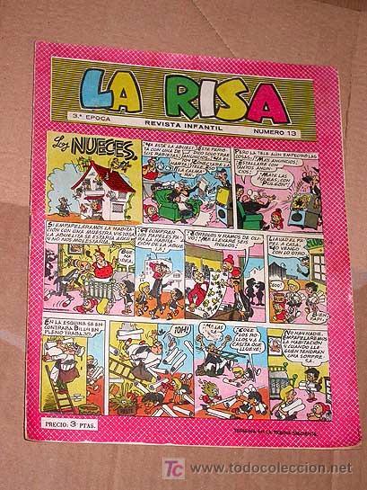 LA RISA TERCERA ÉPOCA Nº 13. EDICIONES MARCO 1965. E. BOIX CASTILLO MARTÍNEZ OSETE IBÁÑEZ FLEETWAY + (Tebeos y Comics - Marco - La Risa)