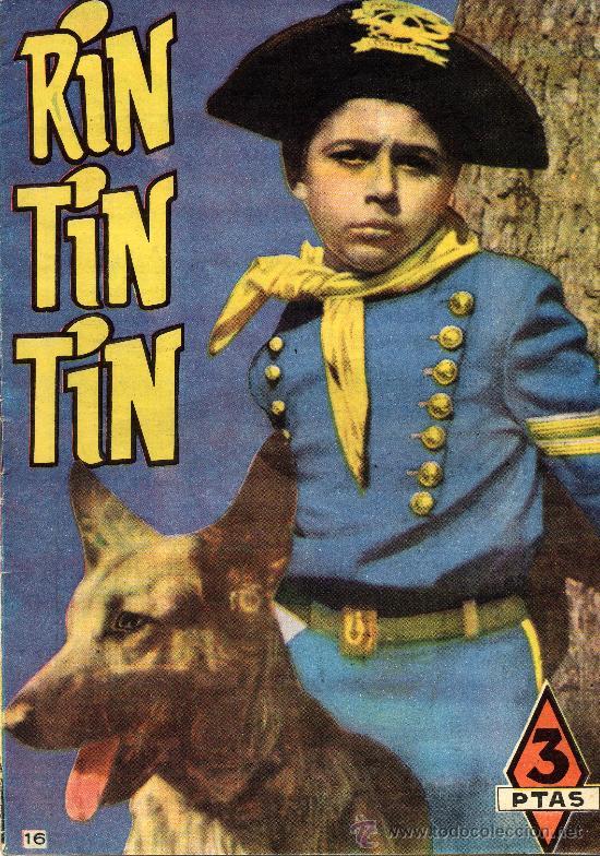RIN-TIN-TIN Nº16 (DIBUJOS DE BEYLOC, MARTINEZ OSETE,...) (Tebeos y Comics - Marco - Rin-Tin-Tin)