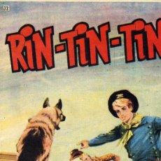 Tebeos: RIN-TIN-TIN Nº33 (DIBUJOS DE BONO Y OTROS,...). Lote 13163509