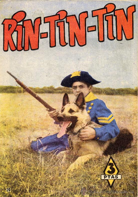 RIN-TIN-TIN Nº20 (DIBUJOS DE BEYLOC, MARTÍNEZ OSETE Y OTROS,...) (Tebeos y Comics - Marco - Rin-Tin-Tin)