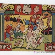 Tebeos: HIPO COLOR. EN EL OESTE. MARCO 1962. Lote 22824205