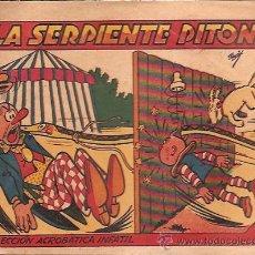 BDs: COLECCION ACROBATICA INFANTIL MARCO AÑOS 40 ORIGINAL LA SERPIENTE PI-TONTA. Lote 24334915