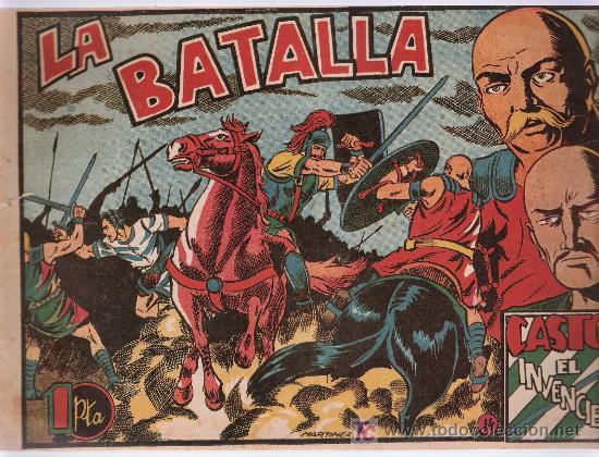 CASTOR EL INVENCIBLE Nº 14. EDITORIAL MARCO 1951. (Tebeos y Comics - Marco - Castor el Invencible)